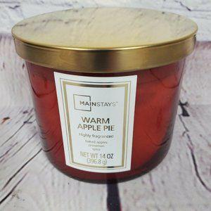 Mainstays 14oz Warm Apple Pie Highly Fragranced